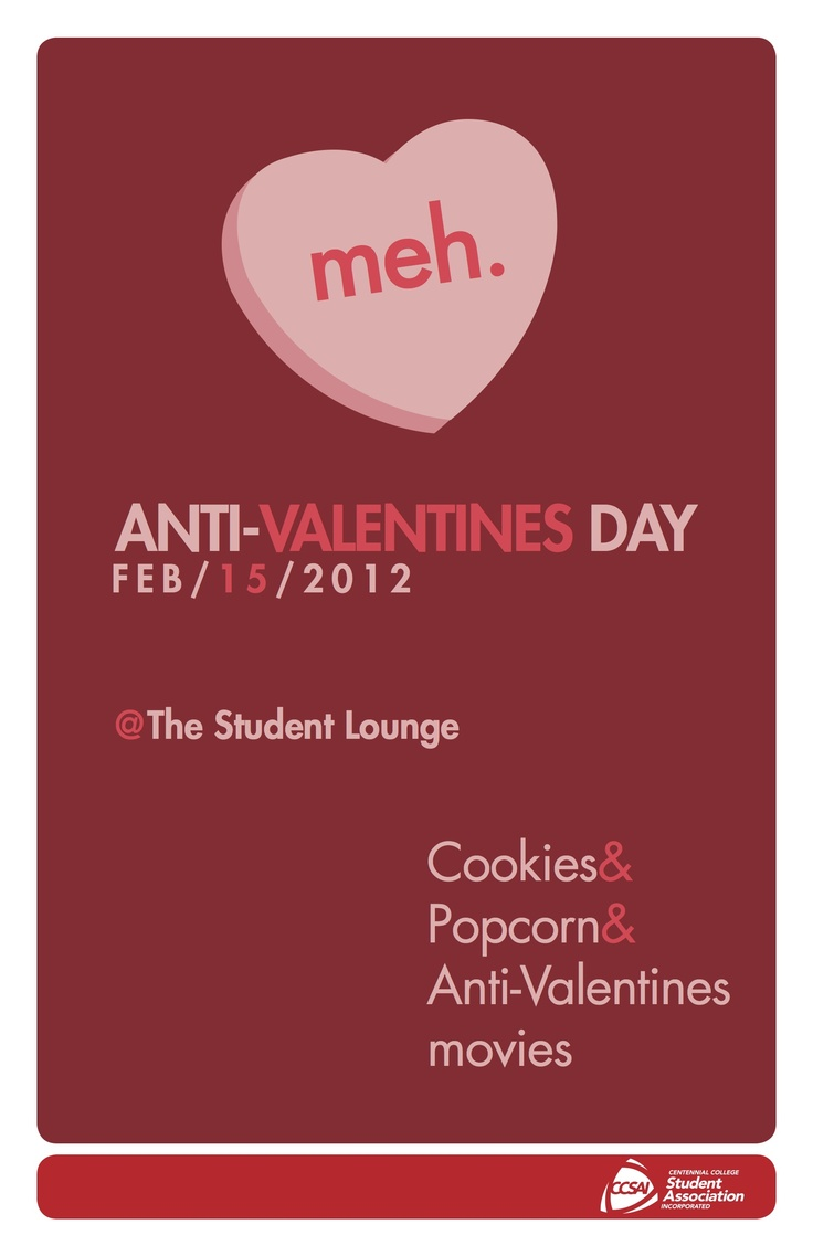 anti valentines day invitations