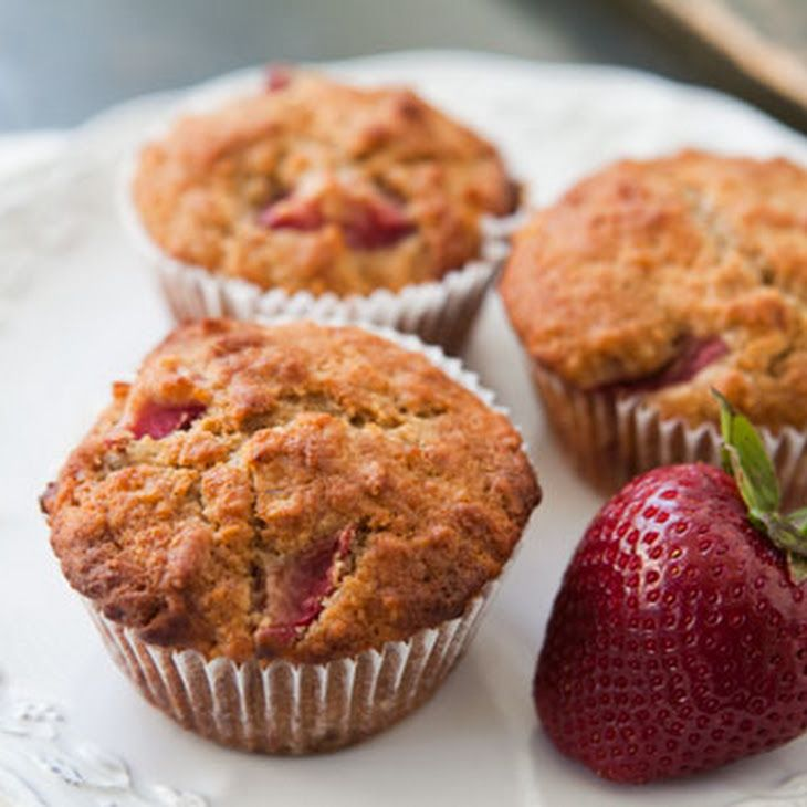 Strawberry Oatmeal Muffins Recipe...these are in the oven right now so ...