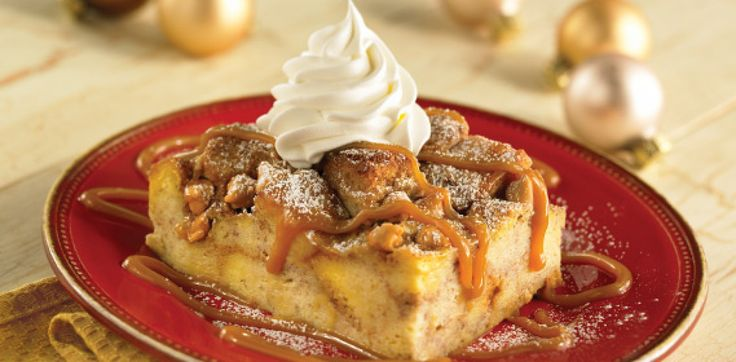 Caramel Apple Bread Pudding | Food: SWEET TOOTH DESSERTS | Pinterest