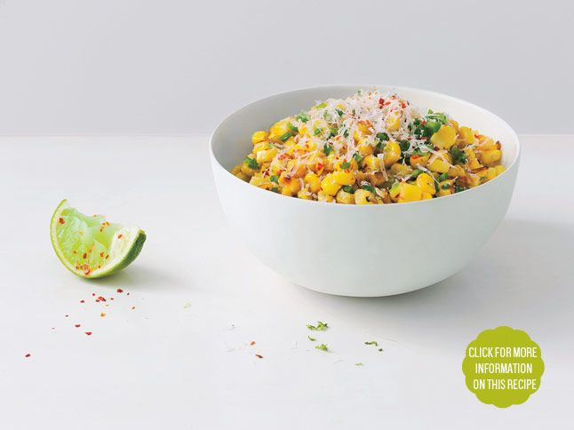 Roasted Corn with Manchego and Lime: Recipe: bonappetit.com Absolutely ...