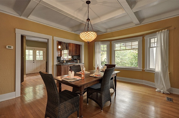 Mission Style Dining Room Craftsman Style Pinterest