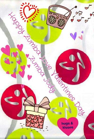 Happy Zumba Love Valentines Day ♥ | Getting Fit | Pinterest