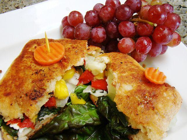 grilled veggie tofu paneer sandwich | food | Pinterest