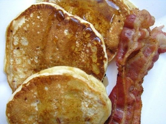 gluten free pumpkin pancakes recipe with apricot jam and maple syrup ...
