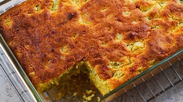 Green Chile Cornbread Recipe — Dishmaps