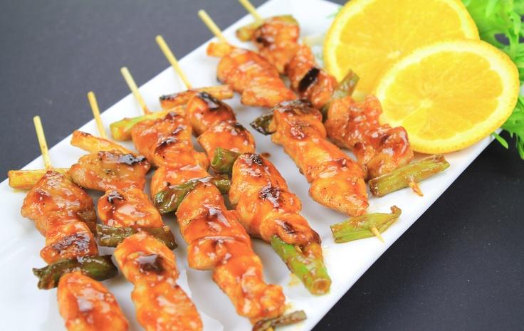 Dakkochi (Korean spicy chicken skewers). | Foodism | Pinterest