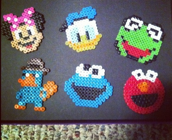 Disney perler beads | Mila | Pinterest