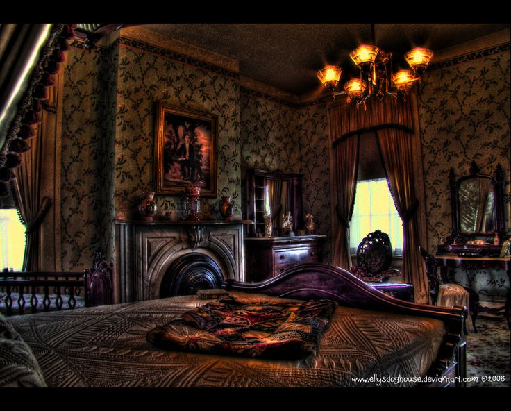 Bedroom haunted mansion ideas pinterest for Haunted mansion ideas