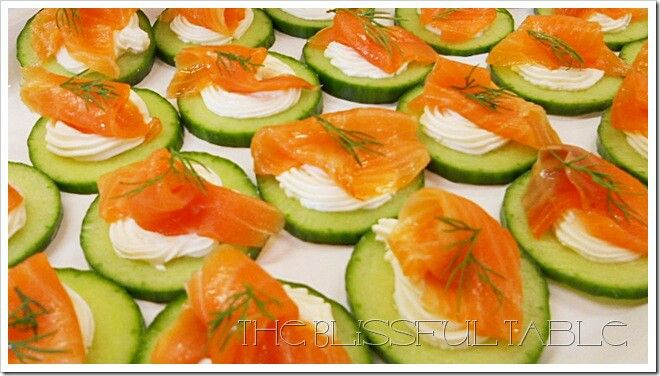 Smoked salmon canapes ideas g8 dinners pinterest for Smoked salmon canape