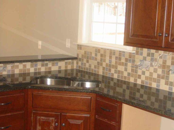 Kitchen Backsplash Small Tiles For The Home Pinterest