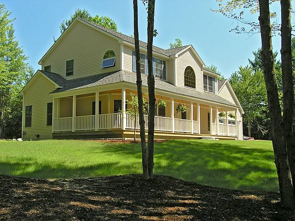 Colonial Style Home New England Pinterest