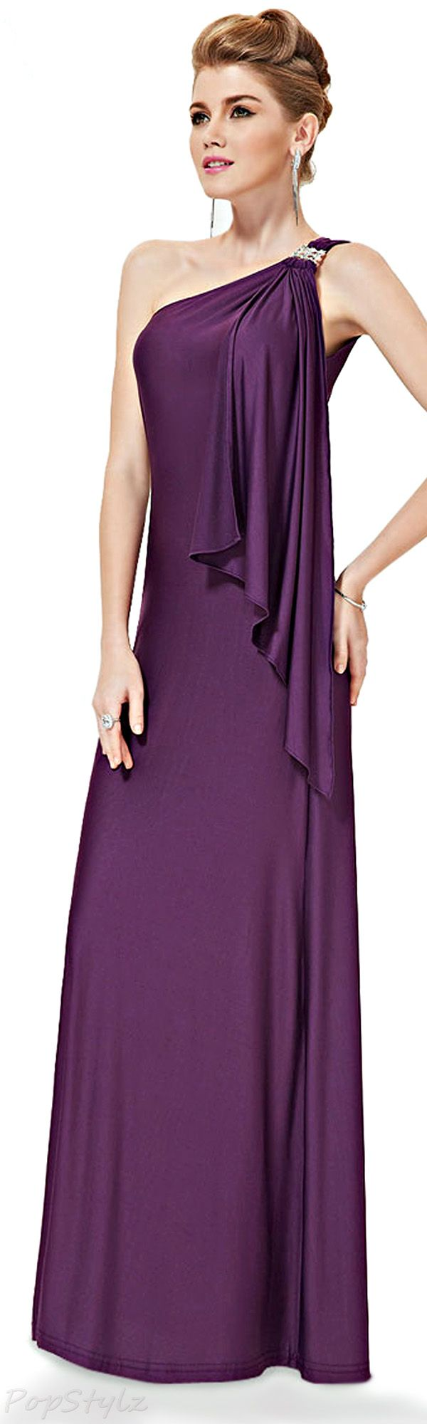 Lovely Purple Evening Gown