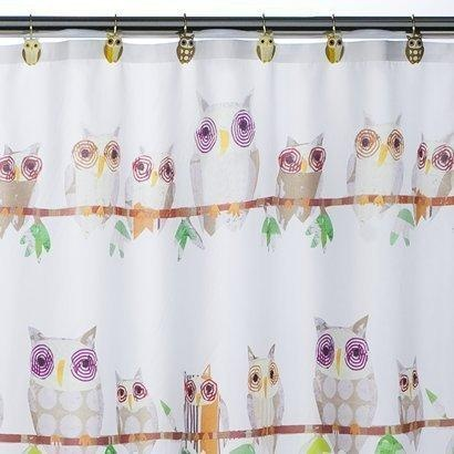 owl shower curtain for the home pinterest