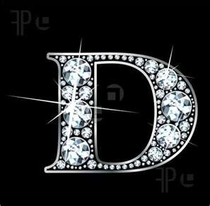 U Alphabet In Diamond is for Diamond Donna | D is for Donna | Pinterest