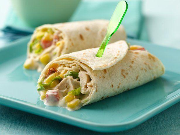 Chicken fajita salad wraps favorite recipes pinterest