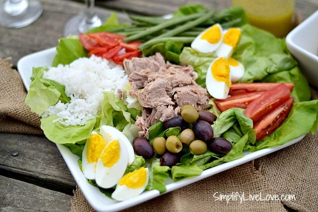 Salad Nicoise ~ Easy, Healthy Lunch | Salads | Pinterest