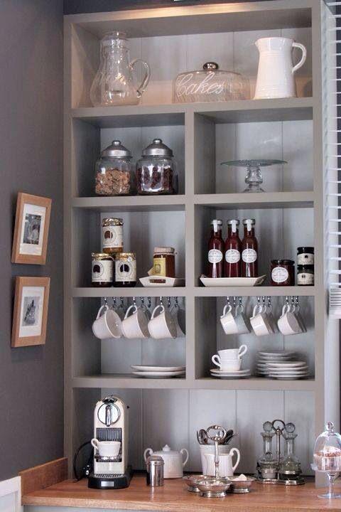 Coffee Bar Home Decor Pinterest