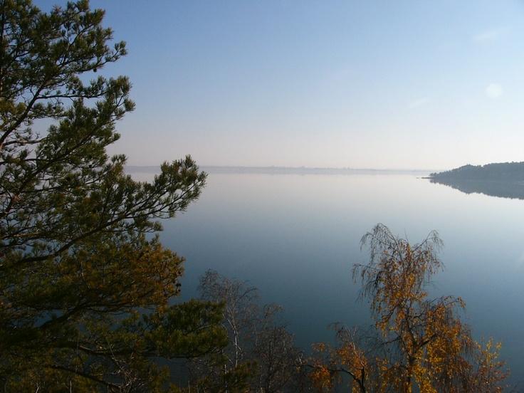 Zerenda lake, Kazakhstan.