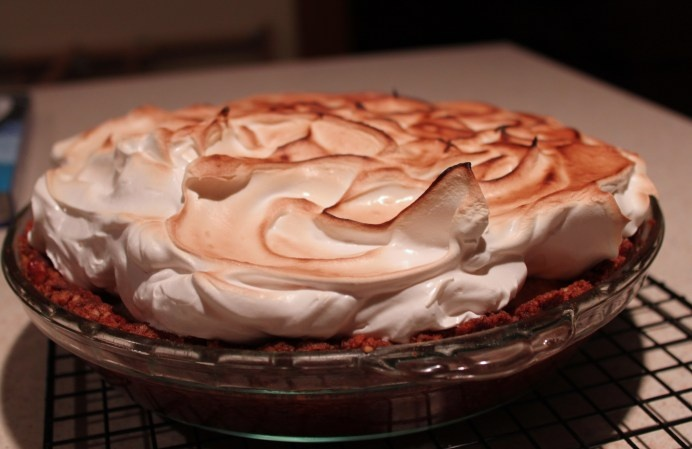 Sweet-Potato Meringue Pie | Foods/Recipes | Pinterest