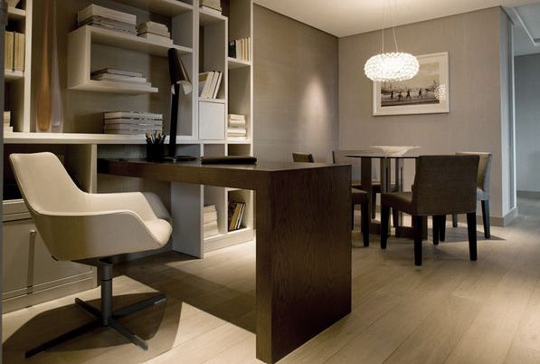Modern Study Room Design Office Space Pinterest