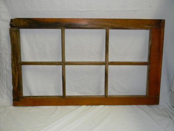 Rustic Wood Window Frame