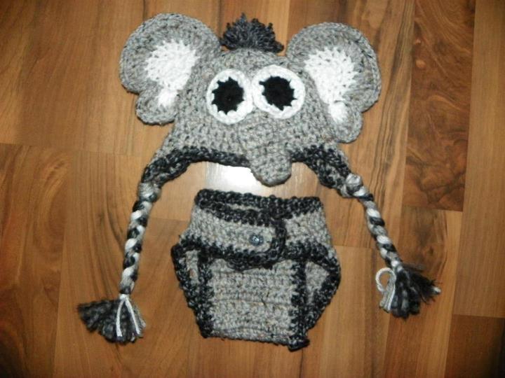 Free Crochet Pattern For Elephant Ears : Help with elephant ears?