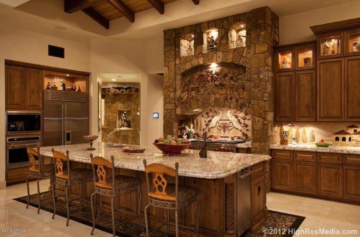 Tuscan Style  Old world kitchens  Pinterest
