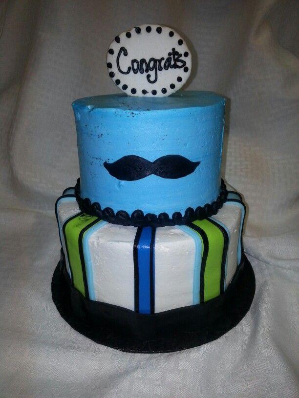 mustache baby shower cake baby shower cakes pinterest