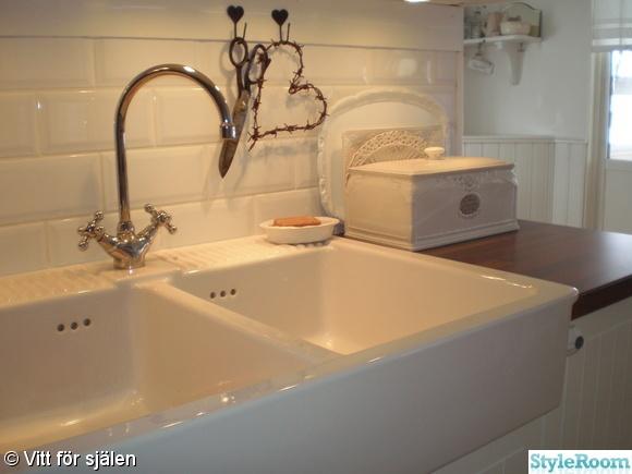 porcelain sink  Rooms; Kitchen  Pinterest