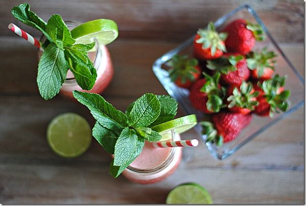 Sparkling Strawberry-Mint Limeade | Things to do before summer ends ...