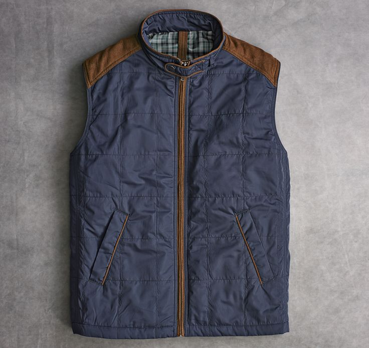 Johnston And Murphy Quilted Vest ~ Mens Dress Sandals