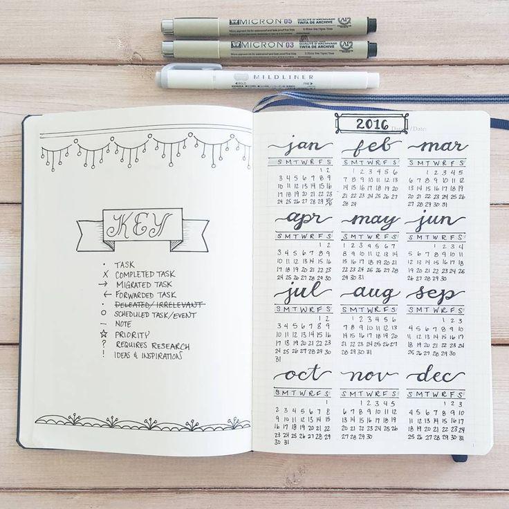 Best 25+ Calendar journal ideas on Pinterest | Bullet journal ...