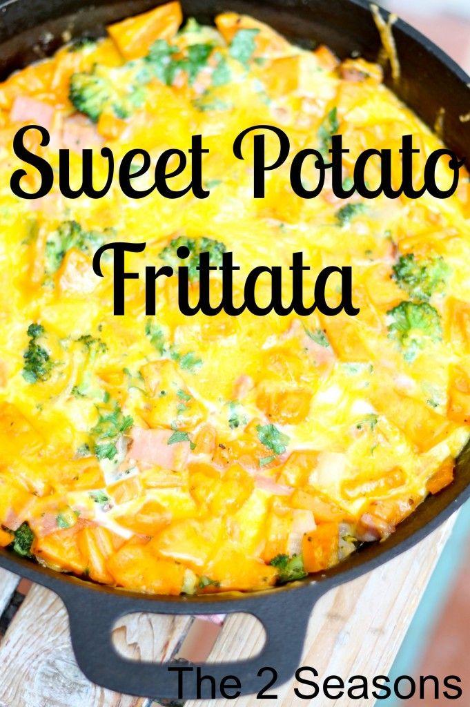 Sweet Potato Frittata (Paleo Friendly) | Statement Food | Pinterest