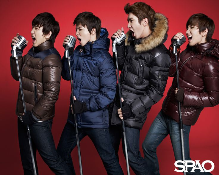 Super Junior Cozy Winter SPAO Wallpaper HD Wallpaper. Get all of SUPER