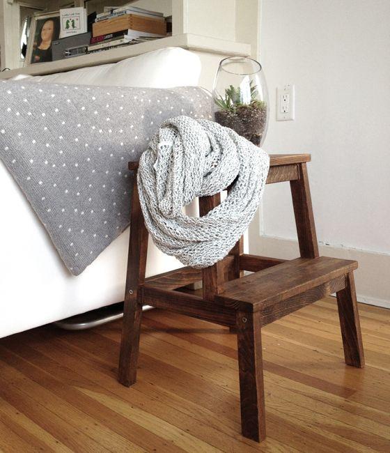 IKEA BEKVAM STOOL MAKEOVER | LITTLE LESSY//   Ikea stool makeover :) love the result