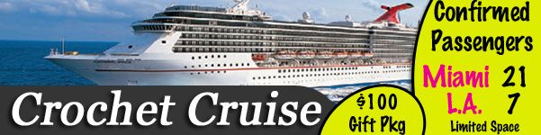 Crocheting Cruise : Crochet Cruise with Carnival crochet Pinterest