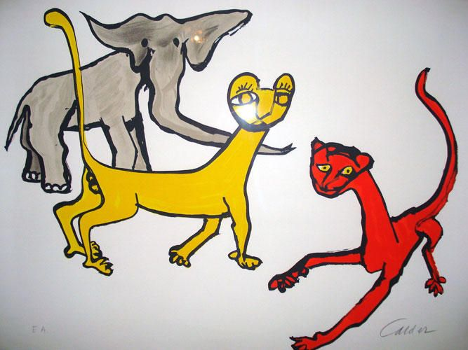 Alexander Calder Resimleri - Alexander Calder EserleriResimleri