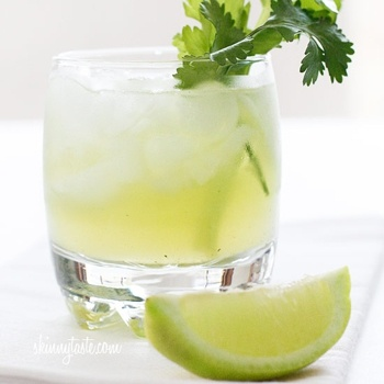 Celery Cilantro Cocktail - you had me at Vodka & cilantro