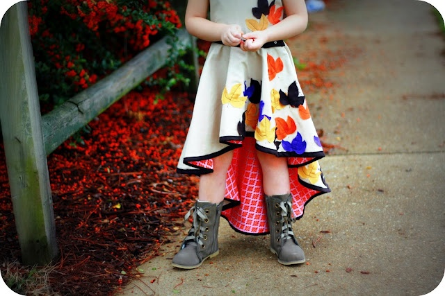 Fishtail skirt. Pattern instructions