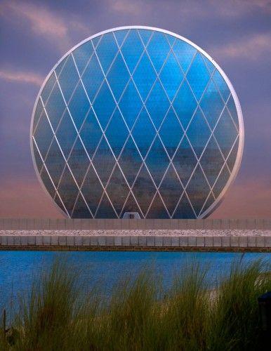 Al Dar Headquarters - Abu Dhabi, United Arab Emirates, 2012  MZ Architects  www.mz-architects.com  via archdaily.com    for #form #material