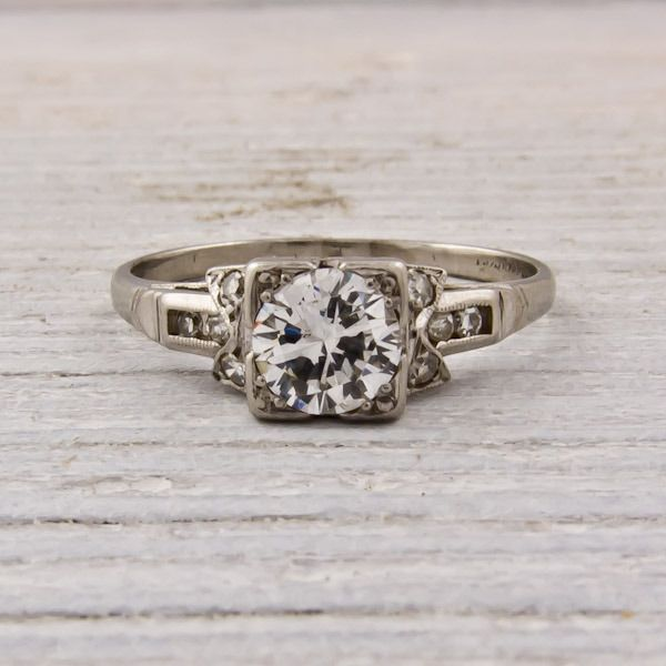 So pretty! 1930 vintage engagement ring! | Cutsie | Pinterest