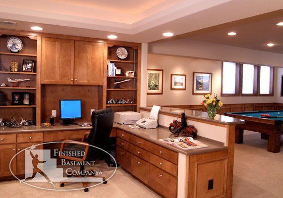 basement office game room office pinterest