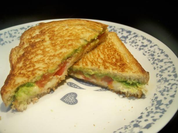 Avocado-Tomato Grilled Cheese Sandwich | Recipe