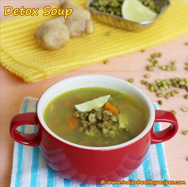 Detox soup – An Easy Homemade Detox soup recipe