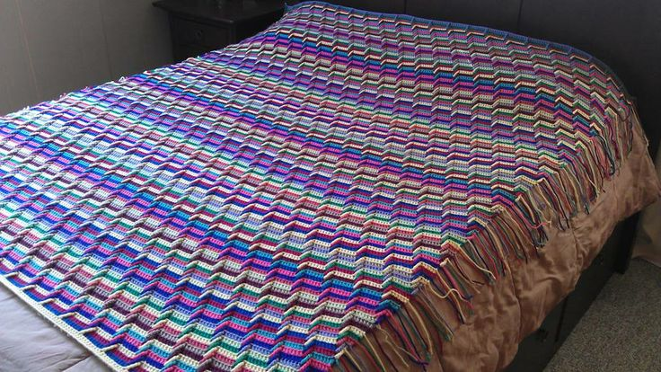 How To Crochet Apache Tears Pattern For Blanket : Pin by Margaret Di Prinzio on Crochet - Afghans and Throws ...