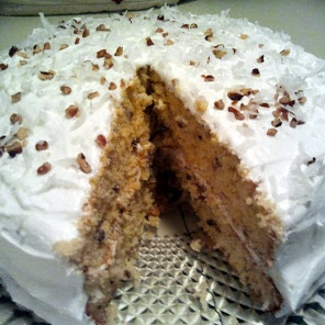 Rave Reviews Coconut Cake recipe snapshot