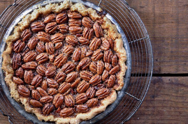 maple bourbon pecan pie with bacon | What's cookn' good lookn'? |...