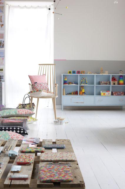 ledansla | interior | white floor