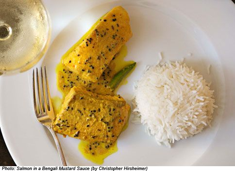 Salmon in a Bengali Mustard Sauce - Bonappetit editor's Note: This ...