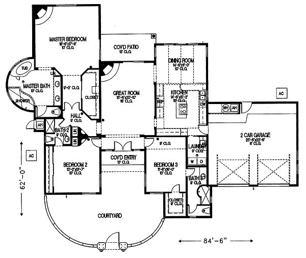 Santafehouse 2 for Santa fe floor plans